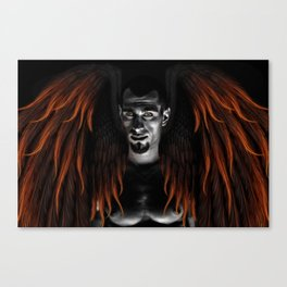 Phoenix Pact with Mephistopheles Fx  Canvas Print