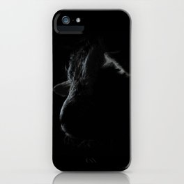 A little face - Baby goat just born iPhone Case