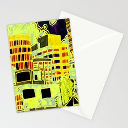 king george square Stationery Cards