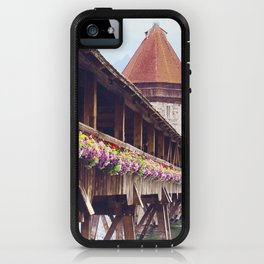Swiss Wooden Bridge iPhone Case
