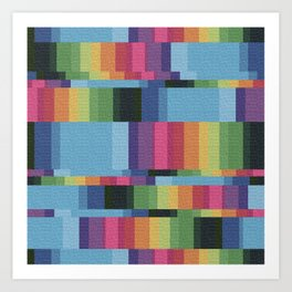 Colorize Art Print