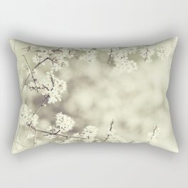 hedge blossoms Rectangular Pillow
