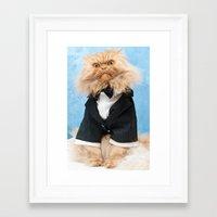 james bond Framed Art Prints featuring Bond...James Bond... by Hulya Ozkok