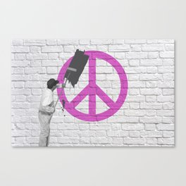 No Peace Allowed! Canvas Print