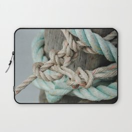 TIED TO THE MOORING #1 Laptop Sleeve