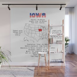 Iowa Wall Mural