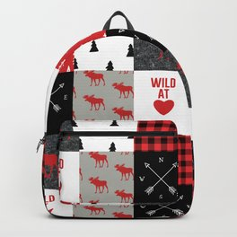 Wild At Heart Lumberjack Quilt Pattern Backpack