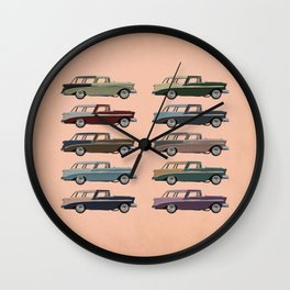 Five More Nomads Wall Clock