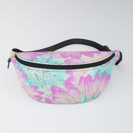 Pastel Spring Floral Fanny Pack