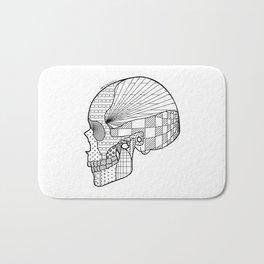 Tweny One Pilots Skull (REDUX) Bath Mat