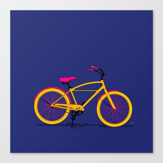Happy Bike Canvas Print