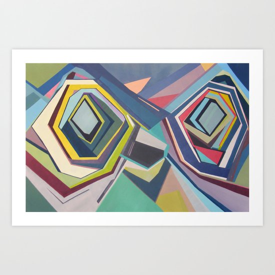 Manifold  Art Print