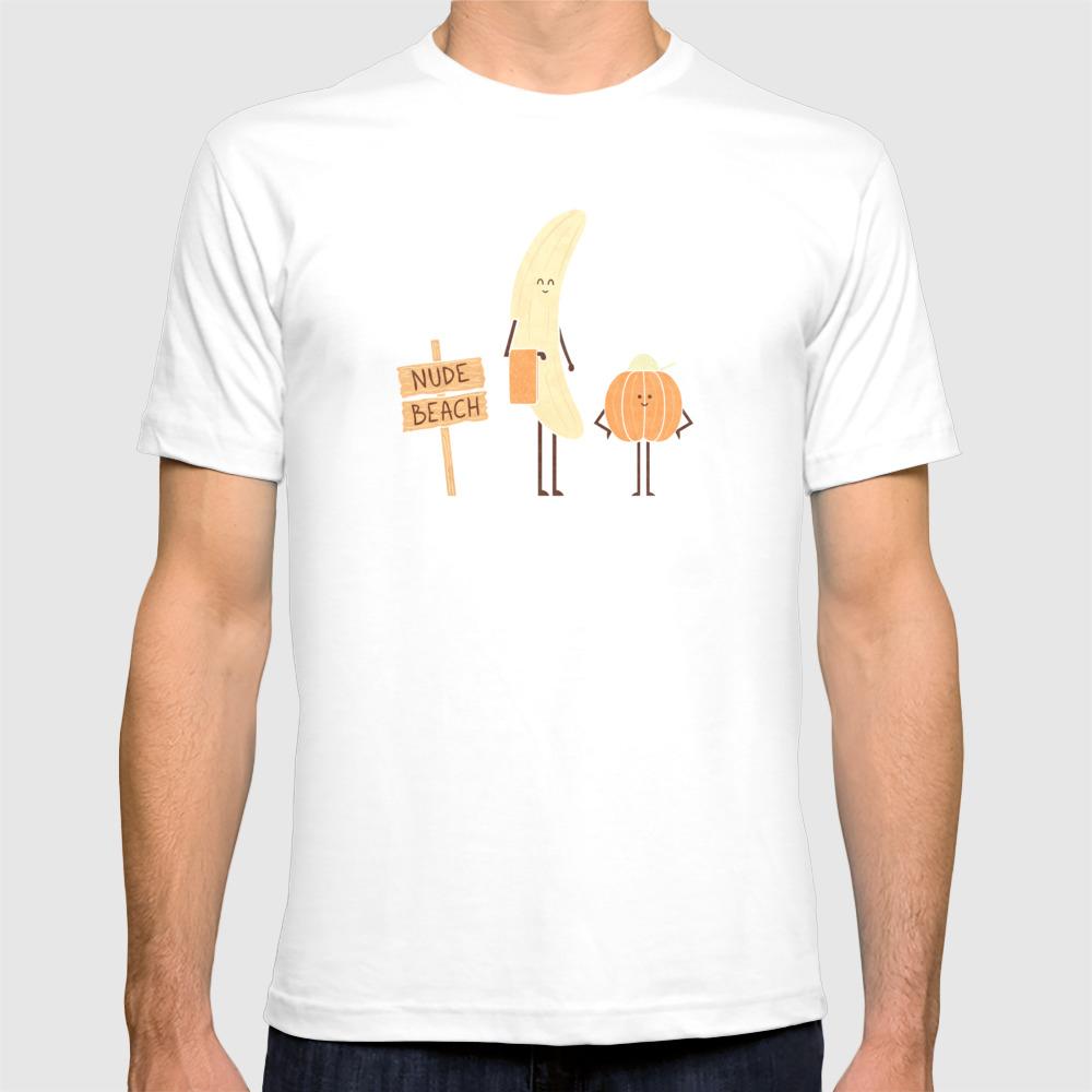 Nudists T-shirt by Teozirinis TSR7448242