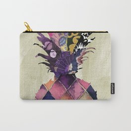 Pineapple Brocade I Carry-All Pouch