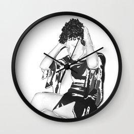 Wig Wall Clock