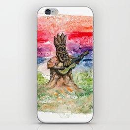 Tiki Sunrise iPhone Skin