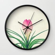 Bromelia II Wall Clock