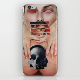 Everybody Wants Head - Vintage Collage iPhone Skin
