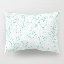 Whimsical Hearts Pillow Sham