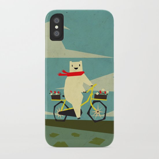 Yeti Taking a Ride iPhone Case