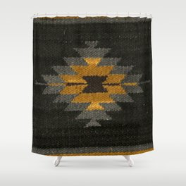wool kilim Shower Curtain