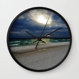Ocean's Light Wall Clock