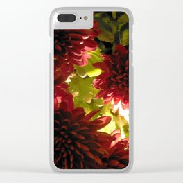 Casino Flower Clear iPhone Case