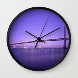 the bridge 4 sky Wall Clock