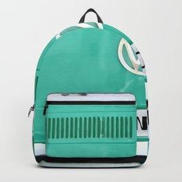 Wander van. Summer dreams. Green Backpack