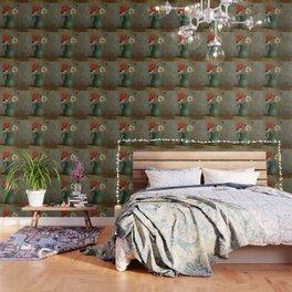 """Odilon Redon """"Pichet au Coquelicot et a la Marguerite"""" Wallpaper"""