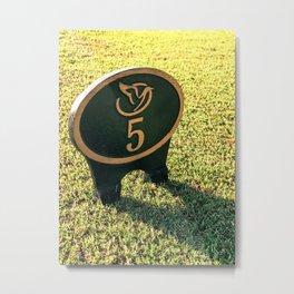5th Tee Metal Print