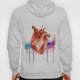 Let your heart lead the way Hoody