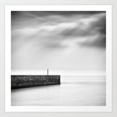 Lonely Harbour Art Print