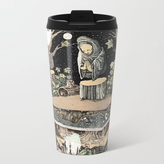 the priest Metal Travel Mug