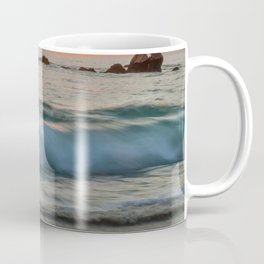 Golden sunset with turquoise waters Coffee Mug