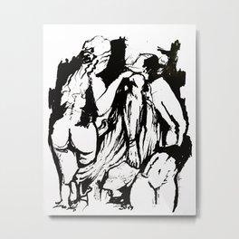Prometheus da Faris Algosaibi (ink sketch) Metal Print