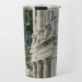 Ancient Amphitheater Travel Mug