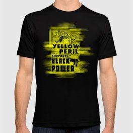 Yellow Peril Supports Black Power T-shirt