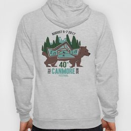 Canmore Folk Festival 40th Anniversary Hoody