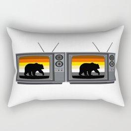 Gay Bear TV for Pride Season Rectangular Pillow