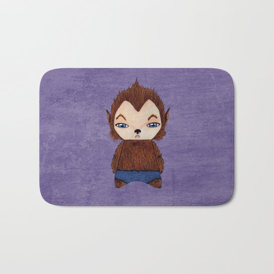 A Boy - Werewolf Bath Mat