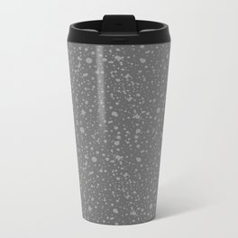 Trail Status / Stone Grey Metal Travel Mug