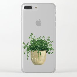 House Plant IV Clear iPhone Case