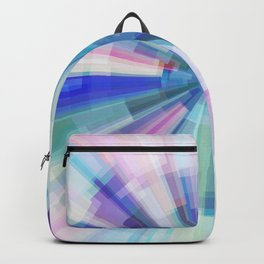 Explosion of Blue Gravity Backpack