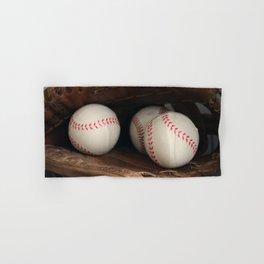 Baseball Glove Hand & Bath Towel