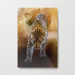 Russian Amur Leopard Metal Print