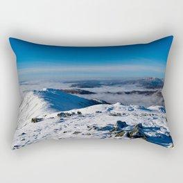 Winter on the Fairfield Horseshoe Rectangular Pillow