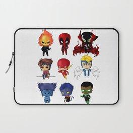 Chibi Heroes Set 2 Laptop Sleeve