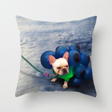 Up in the Clouds Throw Pillow