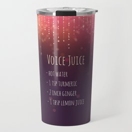 Voice Juice Recipe Travel Mug
